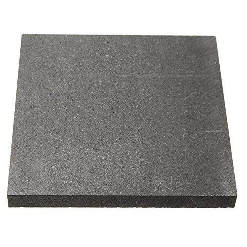 CynKen 1 Pieces 100x100x3mm High Purity Graphite Sheet Graphite Plate