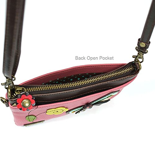 Crossbody Purse Chala Shoulder Strap Small Mini Zipper Pu Leather Butterfly Handbag Adjustable Multi zSqa5wS