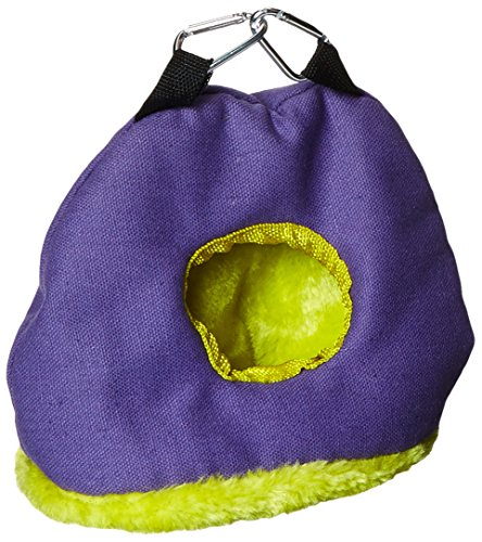 Snuggle Sack (Prevue Pet Products BPV1167 Snuggle Sack Bird Nest with 2-Inch Opening, Small, Colors May Vary)