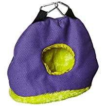 Prevue Hendryx Pet Products BPV1167 Snuggle Sack Bird Nest with 2-Inch Opening, Small