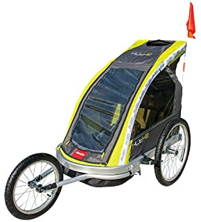 Amazon.com : Allen Sports Premium Aluminum 2 Child Bicycle Trailer ...