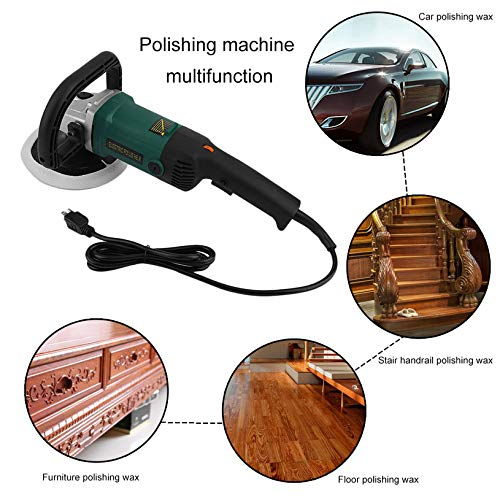 Electric Car Polisher Variable 6 Speed Cars Boats Polishing Machine Set with Carry Box for Makita