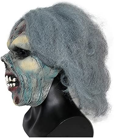 Halloween Masker Halloween Masquerade Zombie Horror Mask Mannen en Vrouwen Grappige Full Face Latex Hoofddeksels role-playing Mask