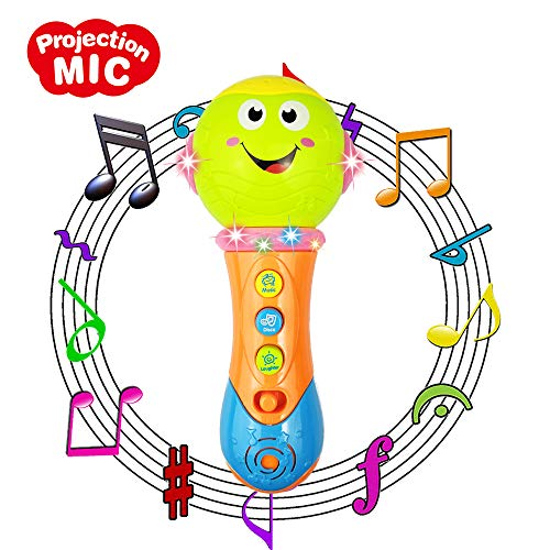 3-12 Months Baby Toy, Microphone Toy for 1-2 Year Old Boys Girl Toy Microphone for 6-15 Months Kids Gift for 1 2 3 Year Old Girl Toy for 9-24 Months Girl Baby Birthday Present