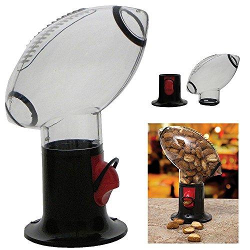 1 Football Snack Dispenser Peanut Gumball Candy Game Room Decor Man Cave Machine