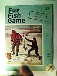 Fur fish game magazine march 1959 photo cat bass in the for Fur fish and game