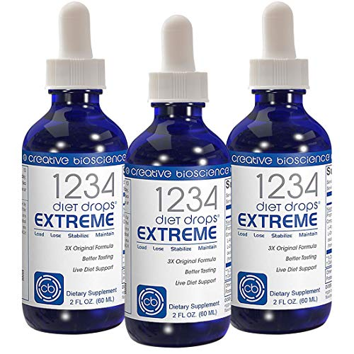 1234 Diet Drops Extreme Bottle product image