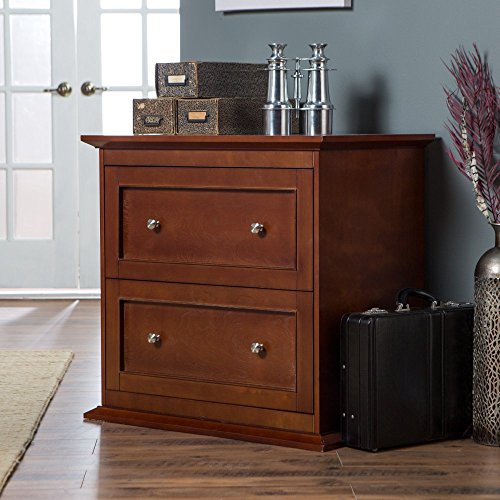 (Belham Living Hampton 2-Drawer Lateral Wood Filing Cabinet - Cherry)