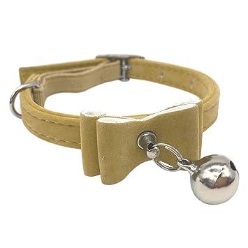 YusellYu 2 Pajaritas pequeñas para Mascotas, Perro, Gato, Cuello ...