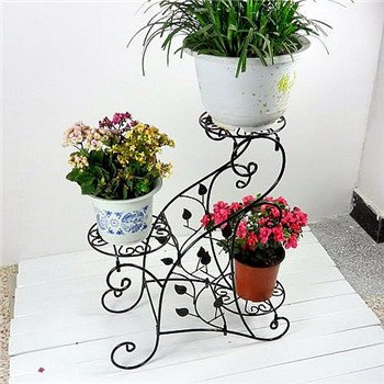Buy Asian Arts Wrought Iron Flower Plant Stand Online At Low Prices