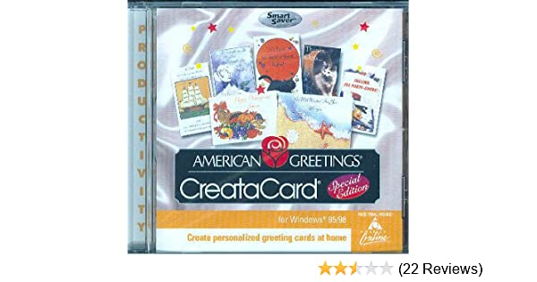 Amazon american greetings creatacard special edition jewel case m4hsunfo