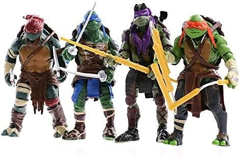 AIYL 15cm Las Tortugas Ninja Raphael Animado Figura Modelo ...