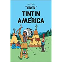 Tintin in America by Herge - Paperback