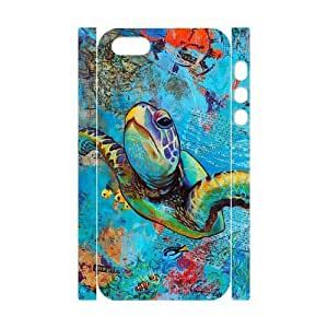 Sea Turtle Brand New 3D Cover Case for Iphone 5,5S,diy case cover ygtg565698