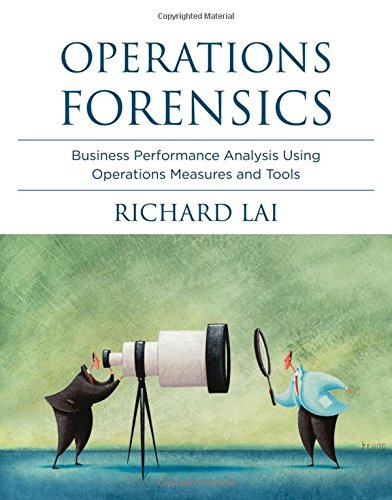 Read Online Operations Forensics: Business Performance Analysis Using Operations Measures and Tools (The MIT Press) pdf epub