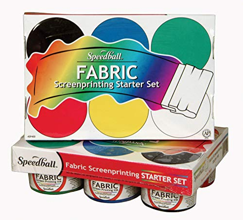 Speedball Fabric Screenprinting Ink Starter Set by Speedball