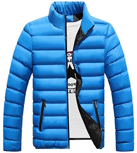 Collar Quilted Packable Gocgt Puffer Coat Lightweight Stand Men Jacket Down 1 Aw7qt