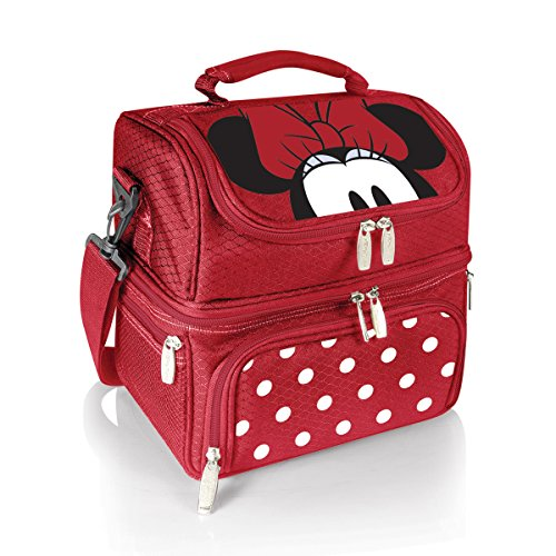 Minnie Mouse Lunch Box - Disney Classics Minnie Mouse Pranzo Insulated Lunch Tote with Service for One