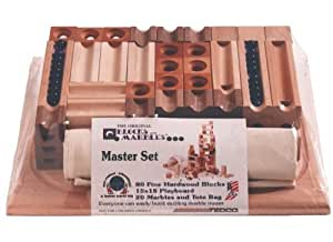 Amazon Com Tedco Wooden Block Amp Marble Master Set Age 4