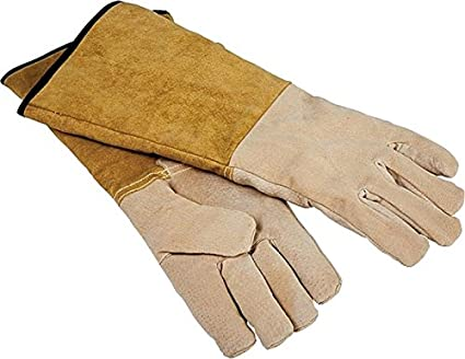 Amazon Com Rocky Mountain Goods Leather Fireplace Gloves 16