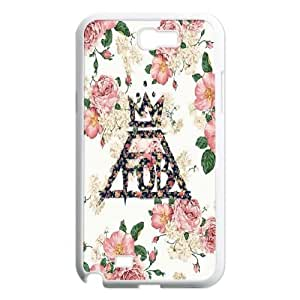 DIY Fall out boy Case, DIY Hard Back Shell Case for samsung galaxy note 2 n7100 with Fall out boy (Pattern-7)