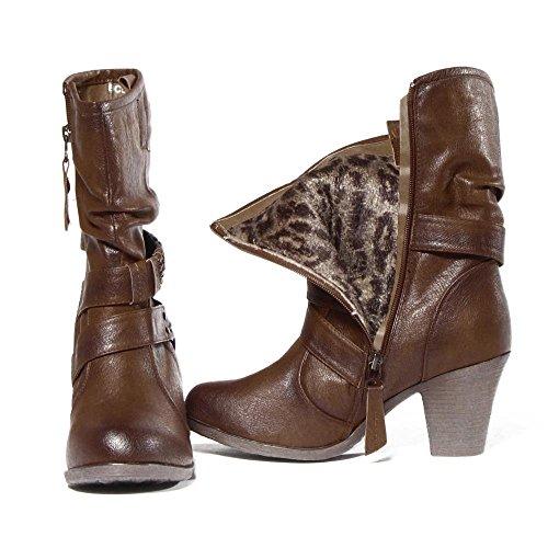 Paprika Damen Sommer Schuhe Rio BC5323