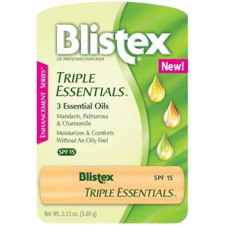- Blistex Triple Essentials Lip Protectant Sunscreen SPF 15 Lip Balm (Pack of 2)