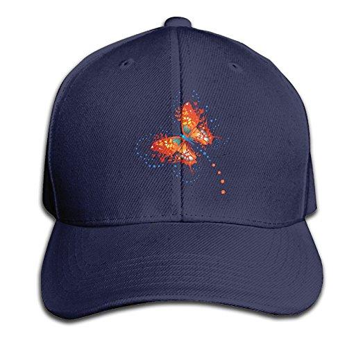 Bat Costume With Umbrella Wings (Butterfly Snapback Adjustable Casquette Cap ForMen Outdoor Activities)
