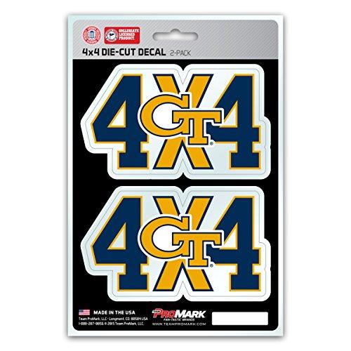 Yellow Jackets Team Logo Decal - 6
