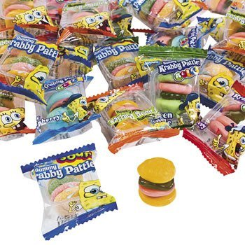Spongebob Squarepants™ Gummy Krabby Patties Mix - Candy & Name Brand Candy (Mix Gummy)