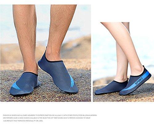 11 Nudi a Scarpe Nuotare Unisex Aqua Quick Dry Colore a Piedi Scarpe di Camminare Scarpe Yoga GTKC Acqua Sport 18xUww