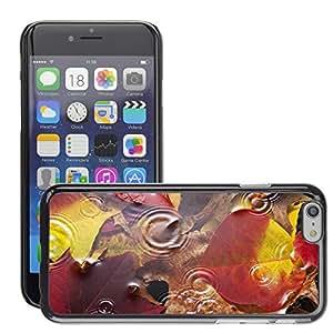"""Print Motif Coque de protection Case Cover // V00001808 Otoño deja el fondo de agua de lluvia // Apple iPhone 6 6S 6G 4.7"""""""