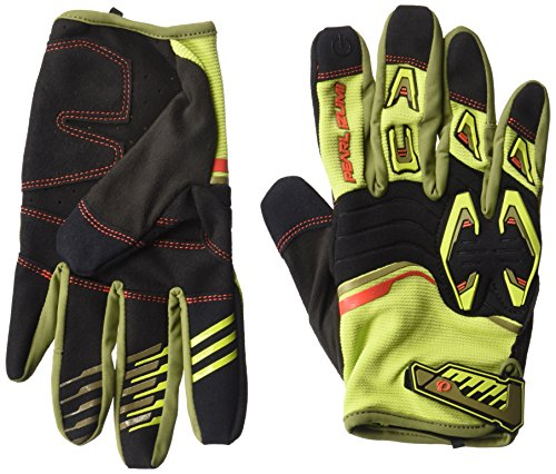 Pearl iZUMi Launch Gloves, Citron/Black, X-Large Single Track Cycling Gloves