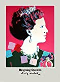 Rare Posters 1986 Andy Warhol Queen Margrethe Ii of Denmark Poster