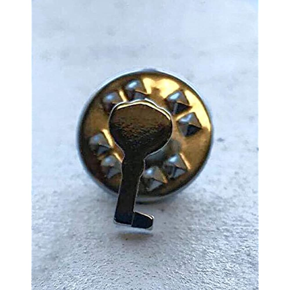 Ky 3ab Antique Brass Plated Skeleton Key Hollow Barrel