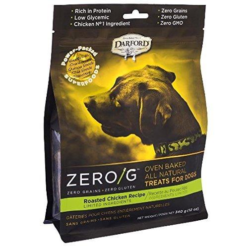 ダルフォード オーブンベイクドビスケット ZERO/G ローストチキンレシピ 340g×6袋 B01N1OSR7N