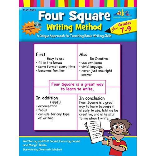 Four Square Writing Method Grades 7-9 w/ Enhanced CD