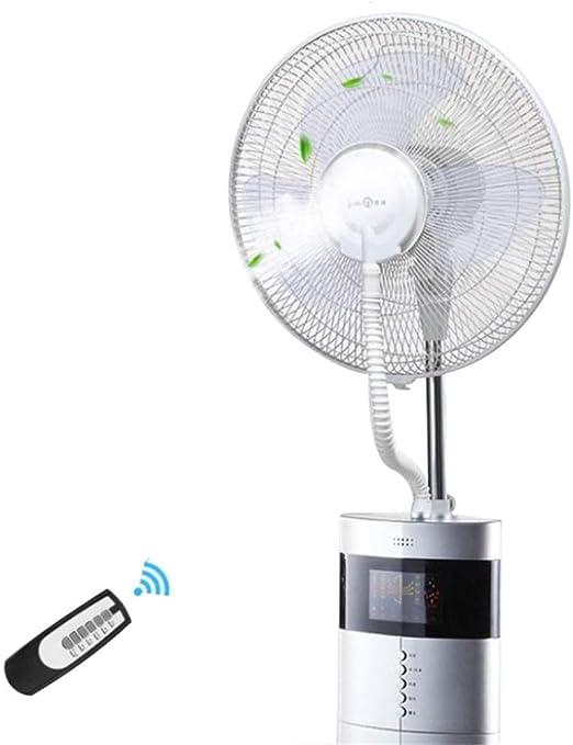 Ventilador Nebulizador Edificio de fábrica Ventilador Extractor Ventilador Industrial Inteligente Niebla Fresca Permanente Humidificador Ventilador oscilante con ...