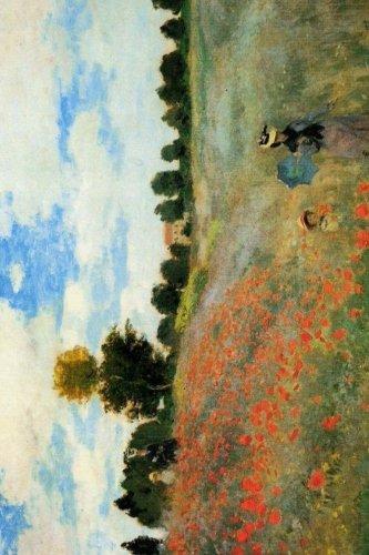 Claude Monet's 'The Poppy Field Near Argenteuil' Art of Life Journal (Lined)