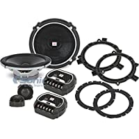 JBL GTO608C 6-1/2 2-Way Grand Touring Series Component Car Speakers System