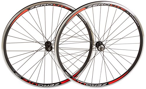 Vuelta ZeroLite Track Comp 700C Wheel Set (Black)