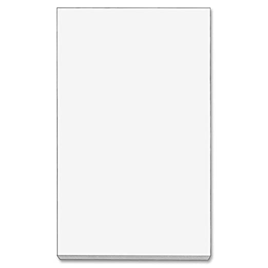 Amazon.com: TOPS Memo Sheets, 3 x 5 Inches, 500 Sheets, White(7860 ...
