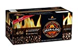 Pine Mountain Java-log Firelog, 4-Hour Burn Time, Recycled Coffee Grounds by Pine Mountain