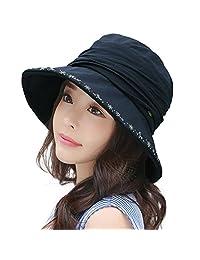 Siggi Women Bucket Boonie Cord Hat Fishing Boating Garden UV 50 Hat Multi Colors