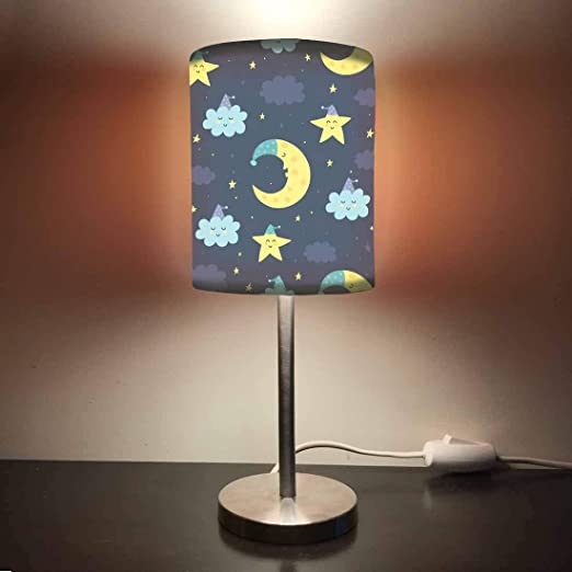Led Night Lights Romantic Fashion 3d Little Clock Lights Led Table Lamp With Multi-colors Nightlights As Bedroom Decoration
