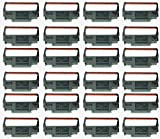 GRC E238-BR Compatible Ink Ribbon Replacement for ERC 30/34/38 Black and red, Porelon BR506, Dataproducts E2117 (24-Pack)
