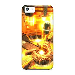 Snap-on Half Life Case Cover Skin Compatible With Iphone 5c