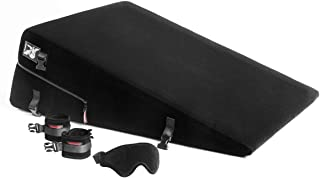 product image for Liberator Black Label 24-Inch Ramp With Cuff Kit, Black Microfiber
