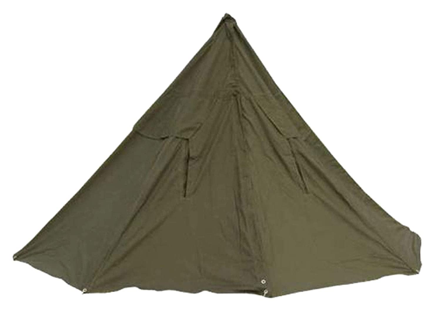 watch 9d39c 30144 Two Man Polish Army Canvas Tent also two Poncho Teepee Grade1 NO POLES