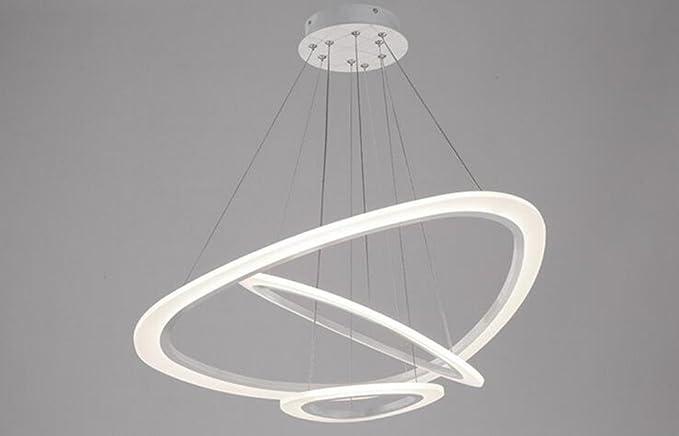 Lampadari Camera Da Letto Moderna : Fgsgz moderno lampadari toroidale acrilico lampade luci di camera